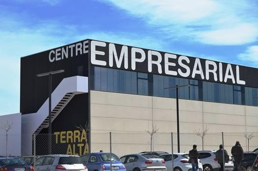 Centre empresarial Gandesa. Luxiot